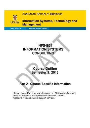 course 35938 information documentation systems