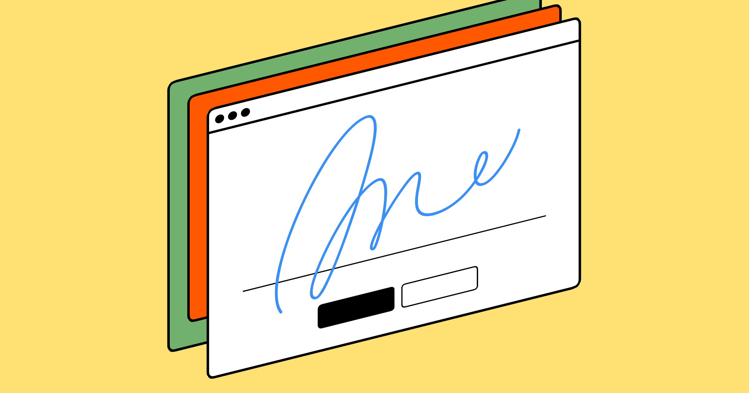 signing an electronic document word mac