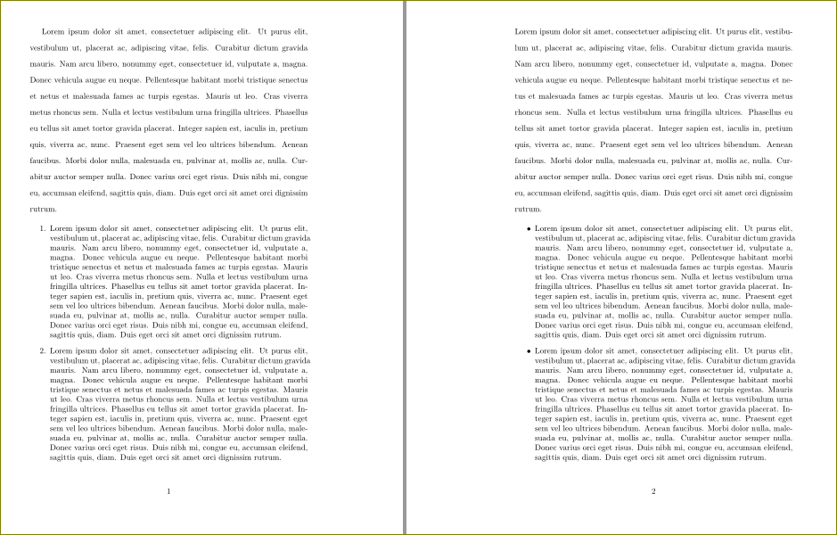 how to make document double spaced
