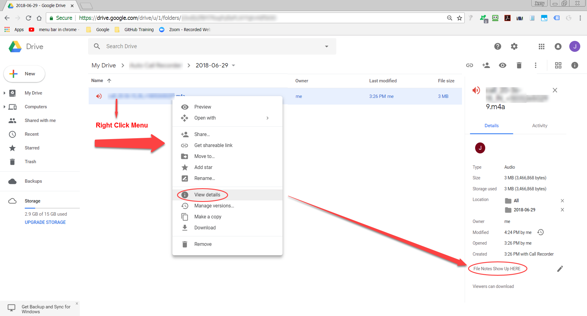 how to open a document from google drive