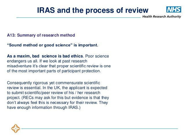 document for review ethics board