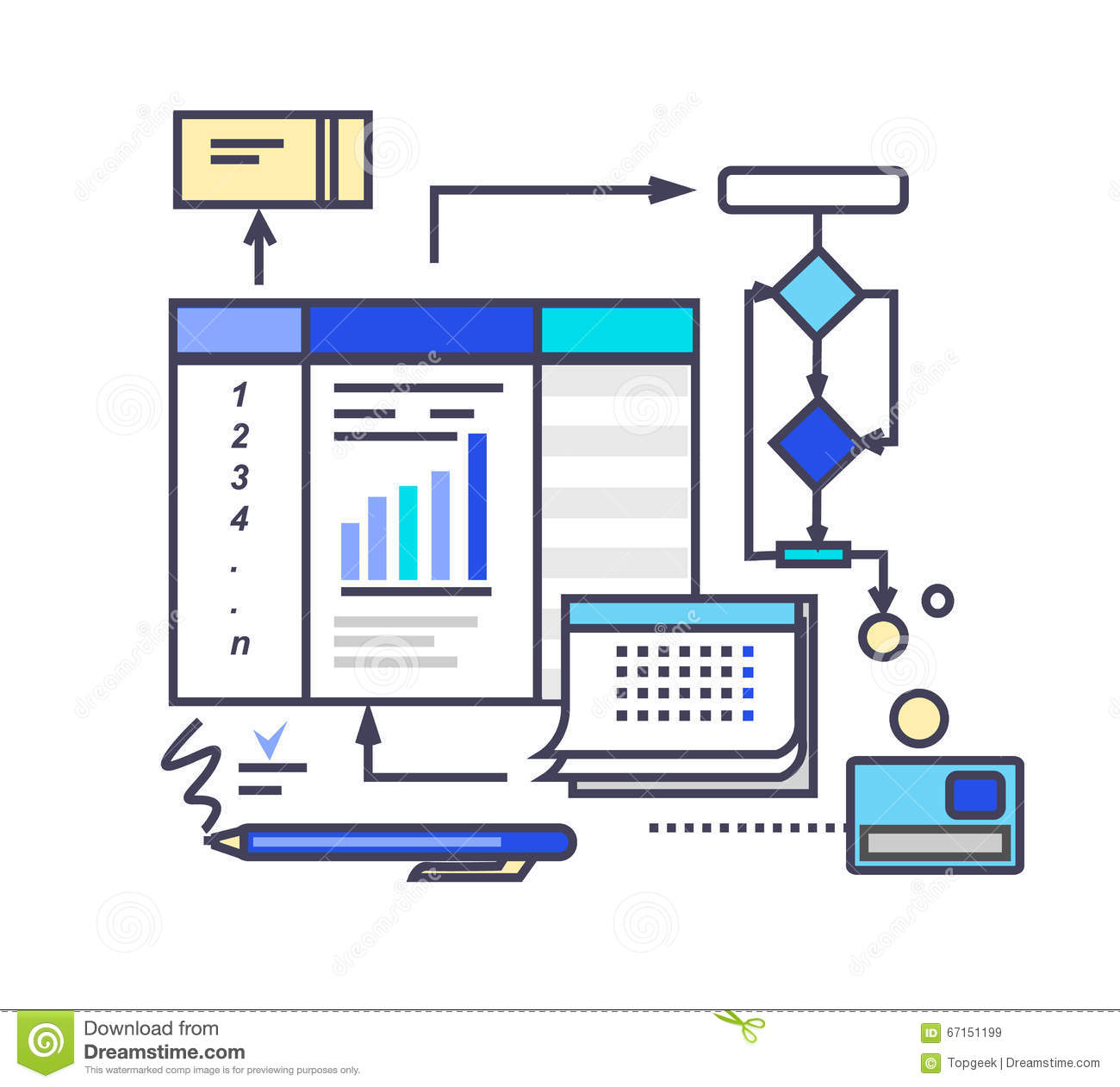 what is a business process design document